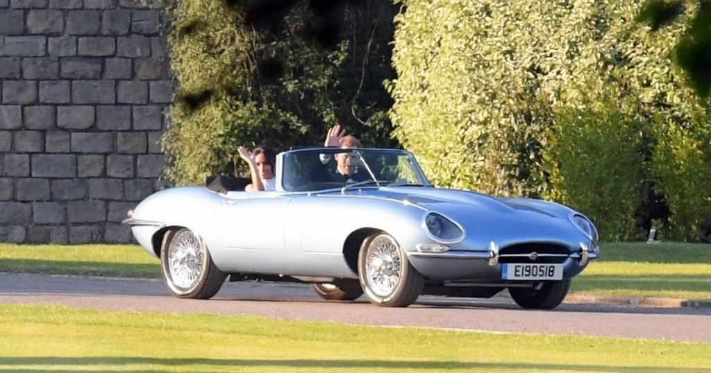 Story Behind The Jaguar E Type That Prince Harry And