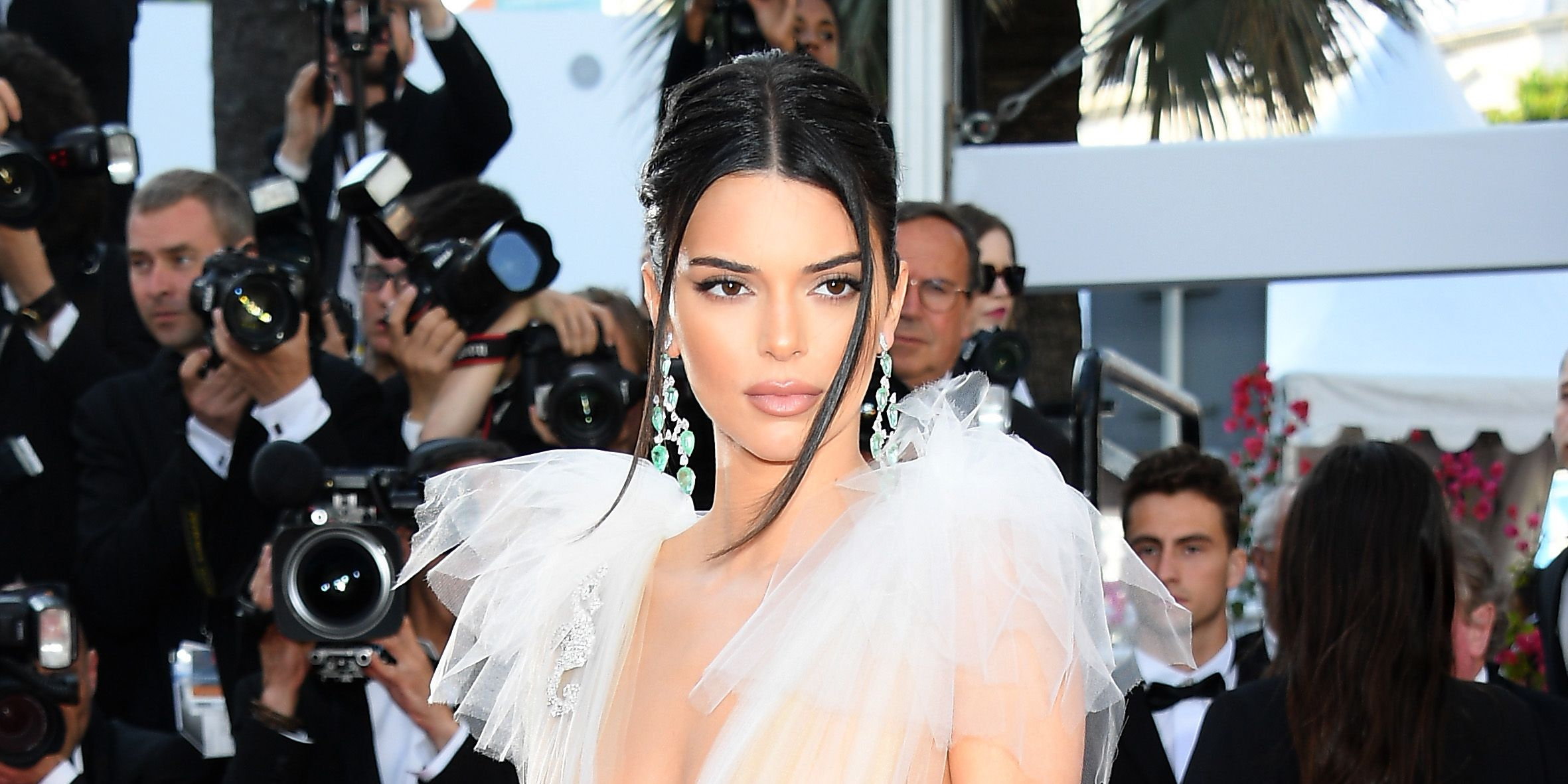 Cannes Film Festival: Kendall Jenner goes braless at