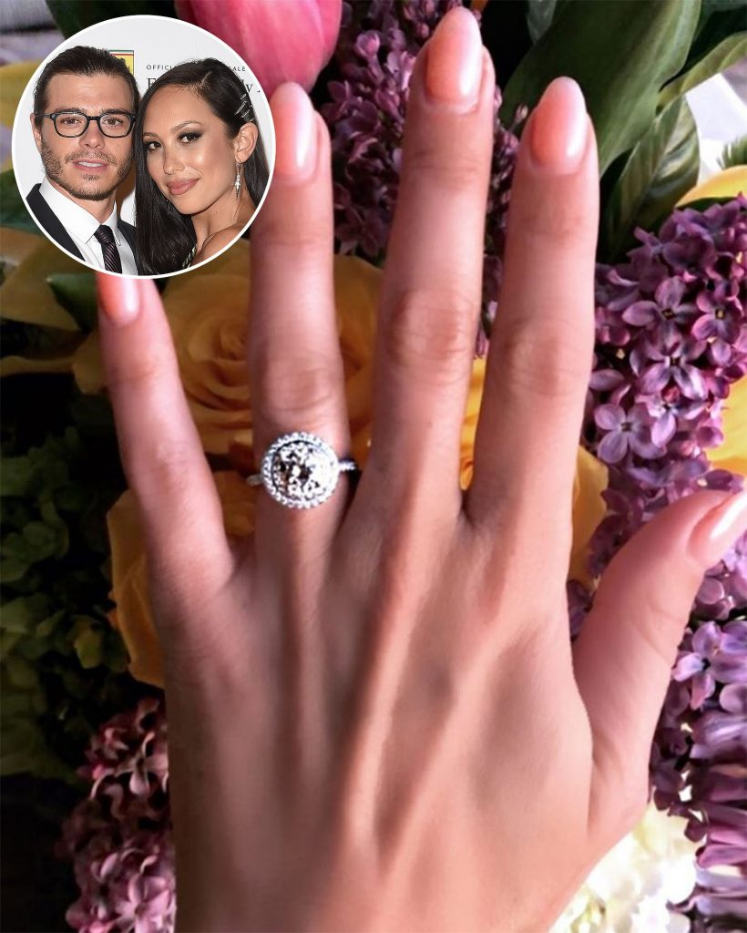 She Said Yes\': Matthew Lawrence Shares Close-Up Photo of Fiancée ...
