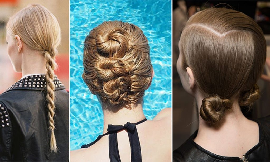 6 Easy Hairstyles For Wet Hair You Can Do In The Bathroom After Pool