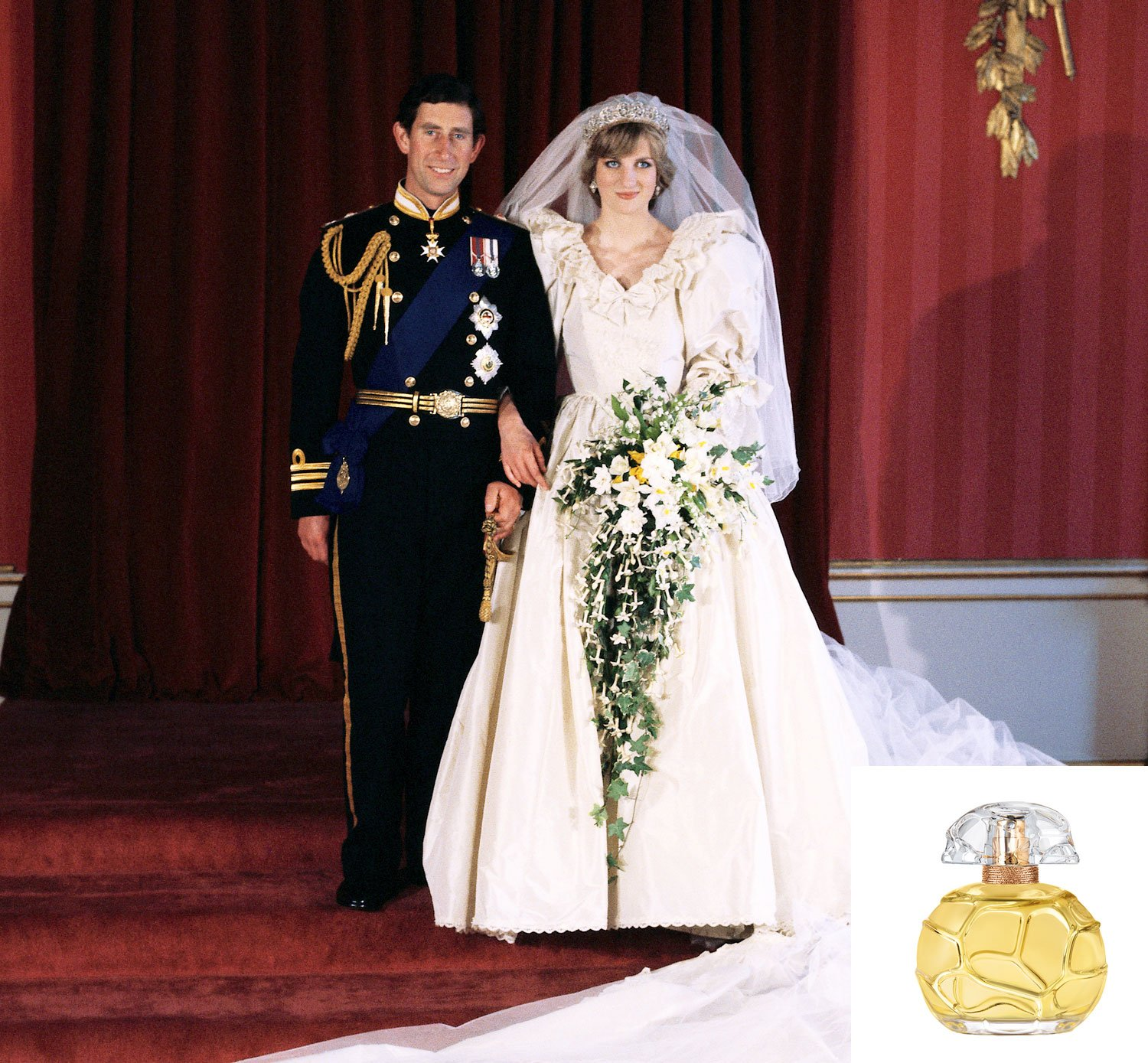 All About Princess Diana's Wedding Day Perfume