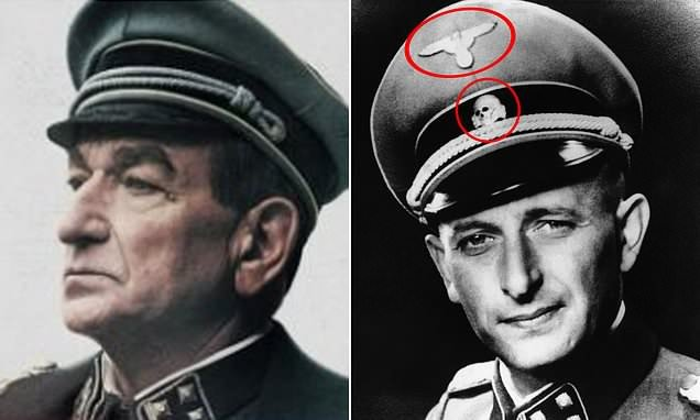 Netflix airbrushes Nazi badges from SS caps in European film advert