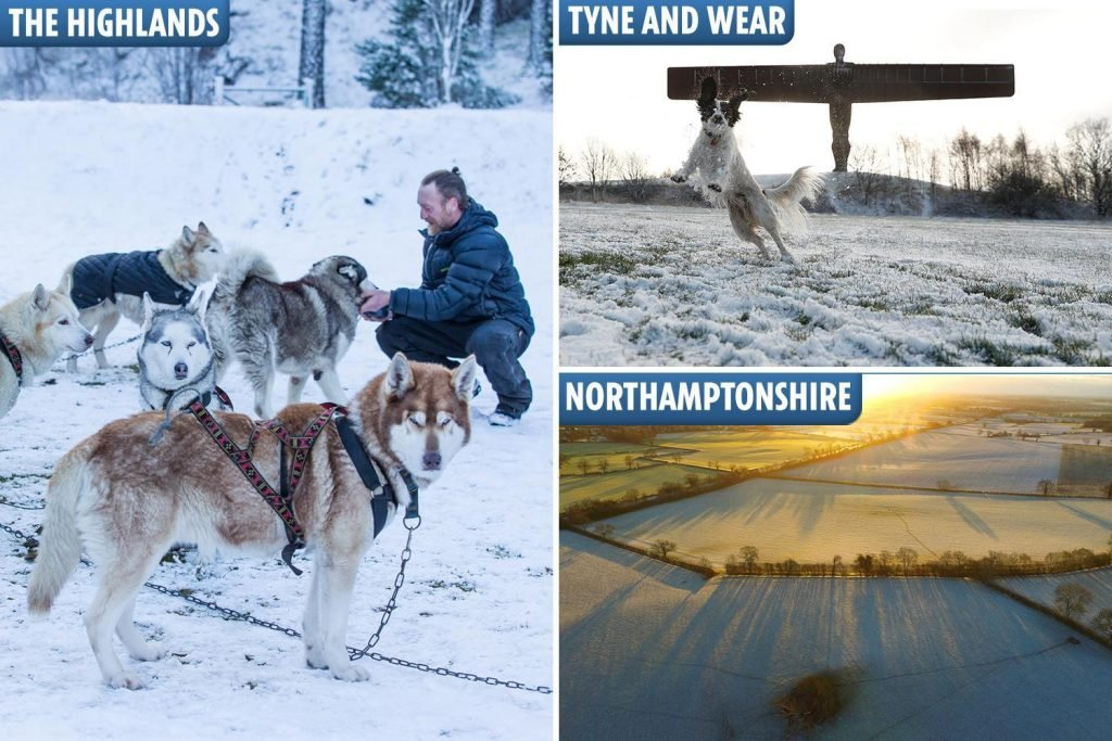 UK weather forecast: Britain faces -11C DEEP FREEZE tonight before