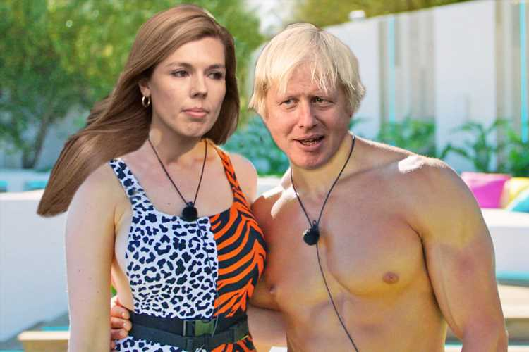Boris Johnson And Carrie Symonds Canoodling In A Field They Re Like
