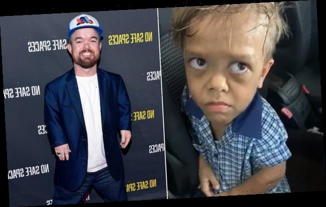 Image result for images of Comedian with dwarfism raises almost $200,000 to send bullied 9-year-old with dwarfism to Disneyland