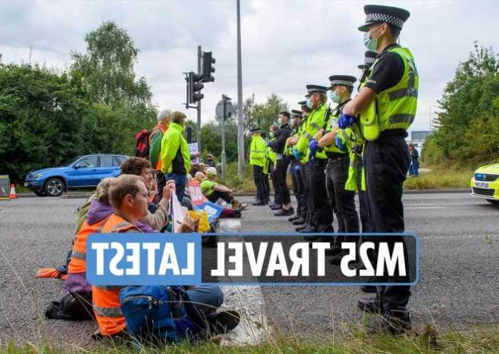 M25 travel latest - Over 30 arrested after Insulate ...